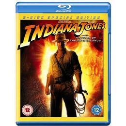 Indiana Jones and the Kingdom of the Crystal Skull [Blu-ray] [2008]